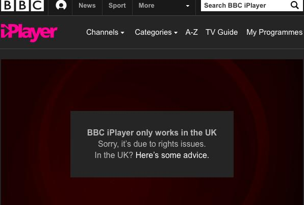 vpn for bbc iplayer