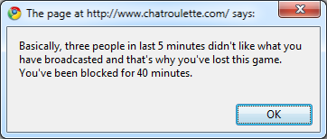 how to get unbanned from chatroulette